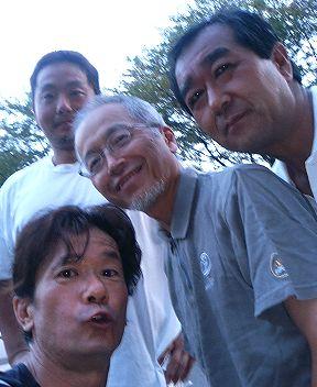 中秋の集会(北支部男子1) 高島・武田・森本 総長
